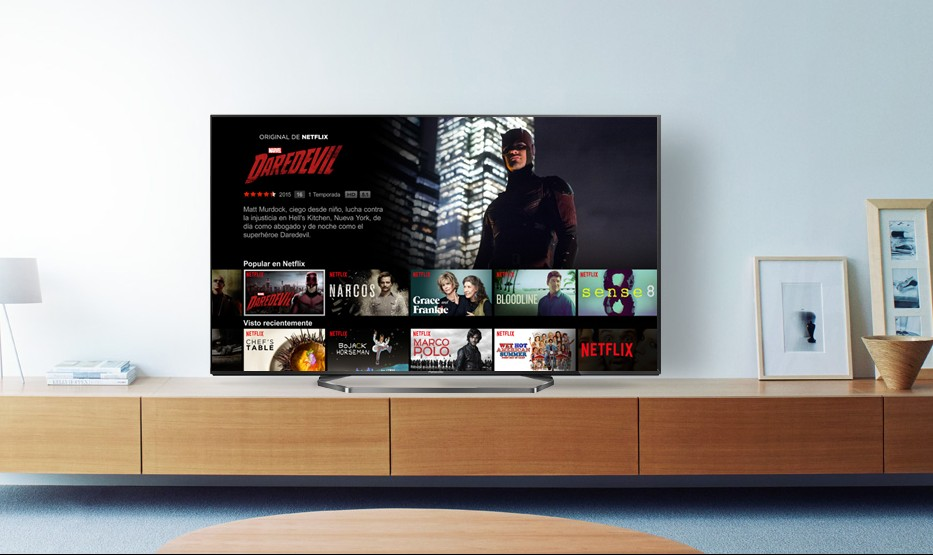 Netflix, disponible en la gama de Smart TV de Panasonic