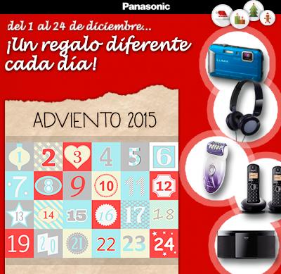 Calendario de Adviento Panasonic: ¡Del 1 al 24, un regalo diferente cada día!