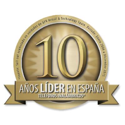 Teléfonos inalámbricos: Celebramos 10 años como líderes en ventas