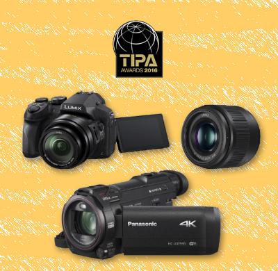 Conseguimos tres premios TIPA 2016 por la Lumix FZ300, el objetivo Lumix G de 25mm y la videocámara VXF990