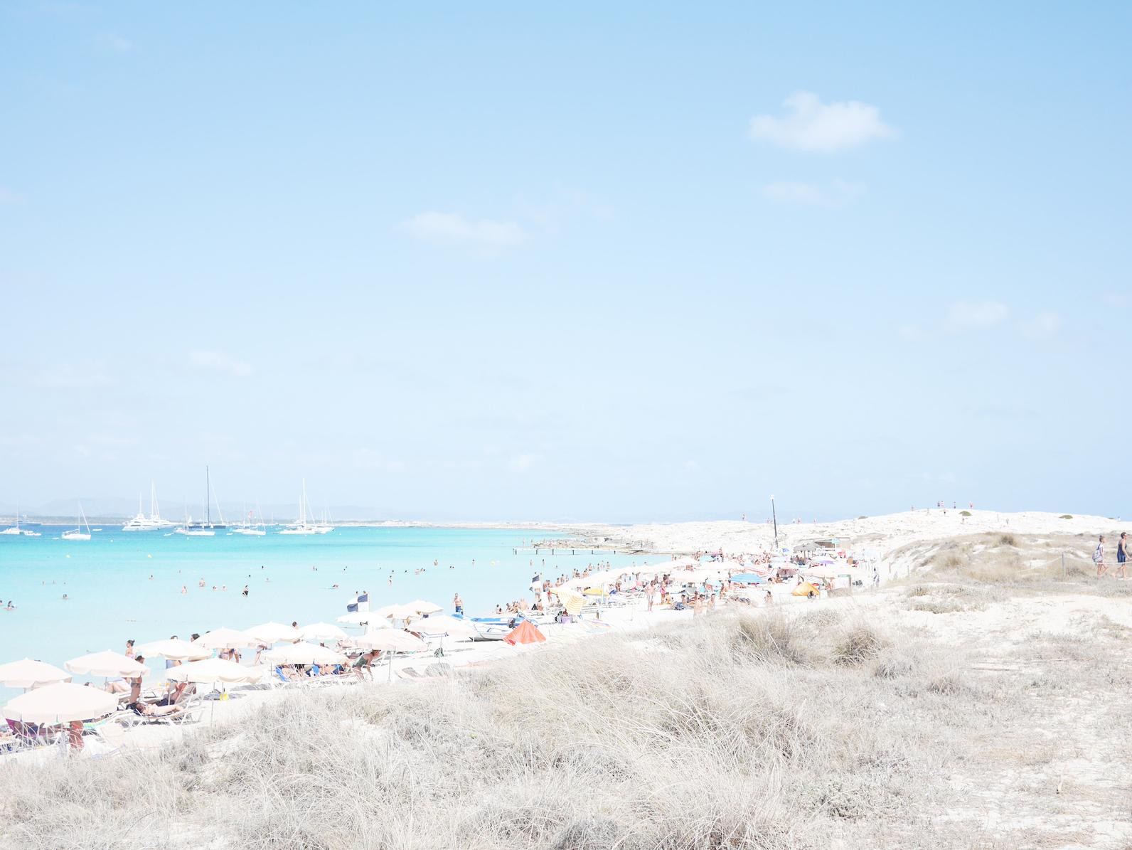 Primeras vacaciones en Formentera en familia