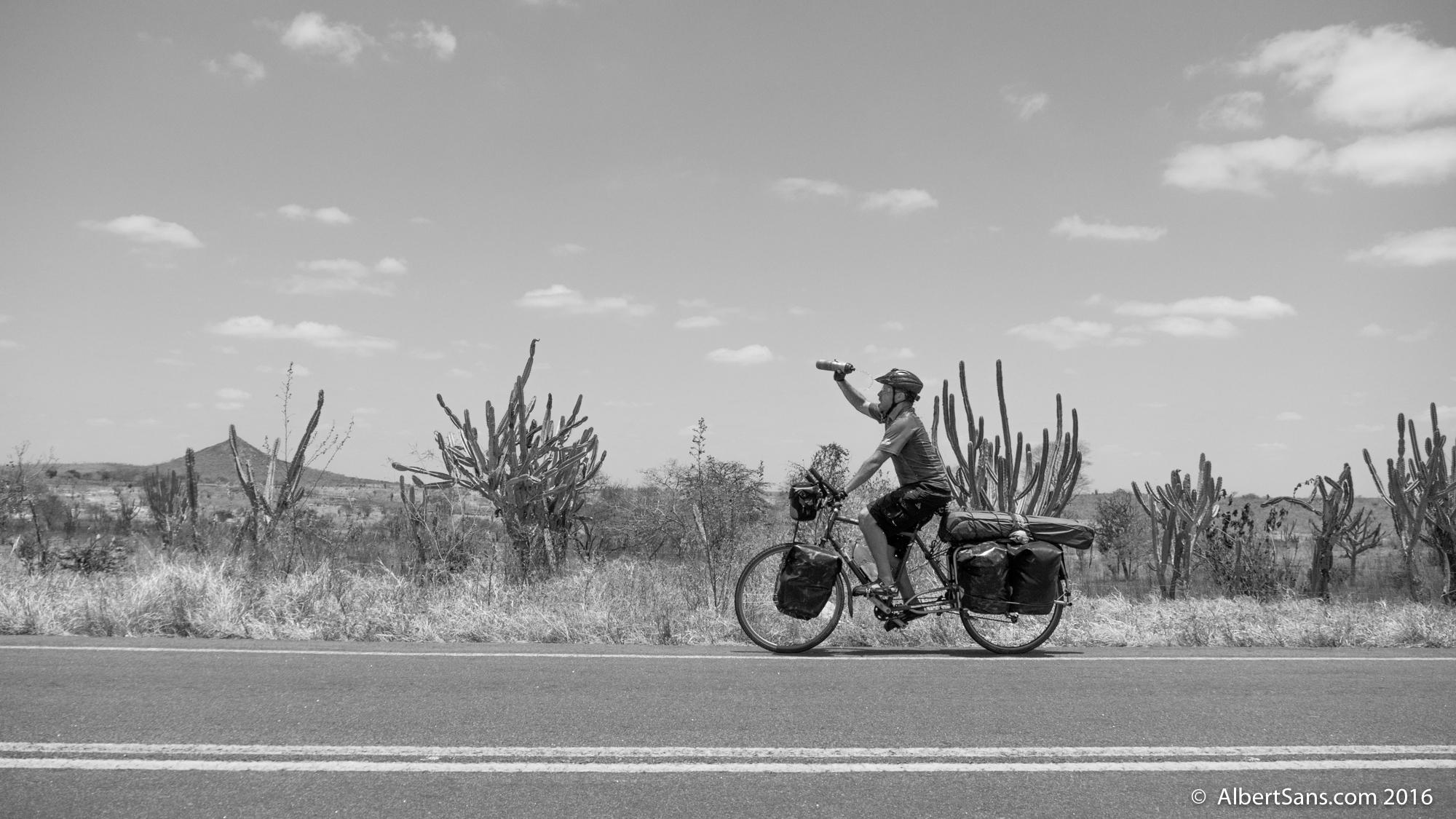 Cruzando desierto hasta la Chapada Diamantina.