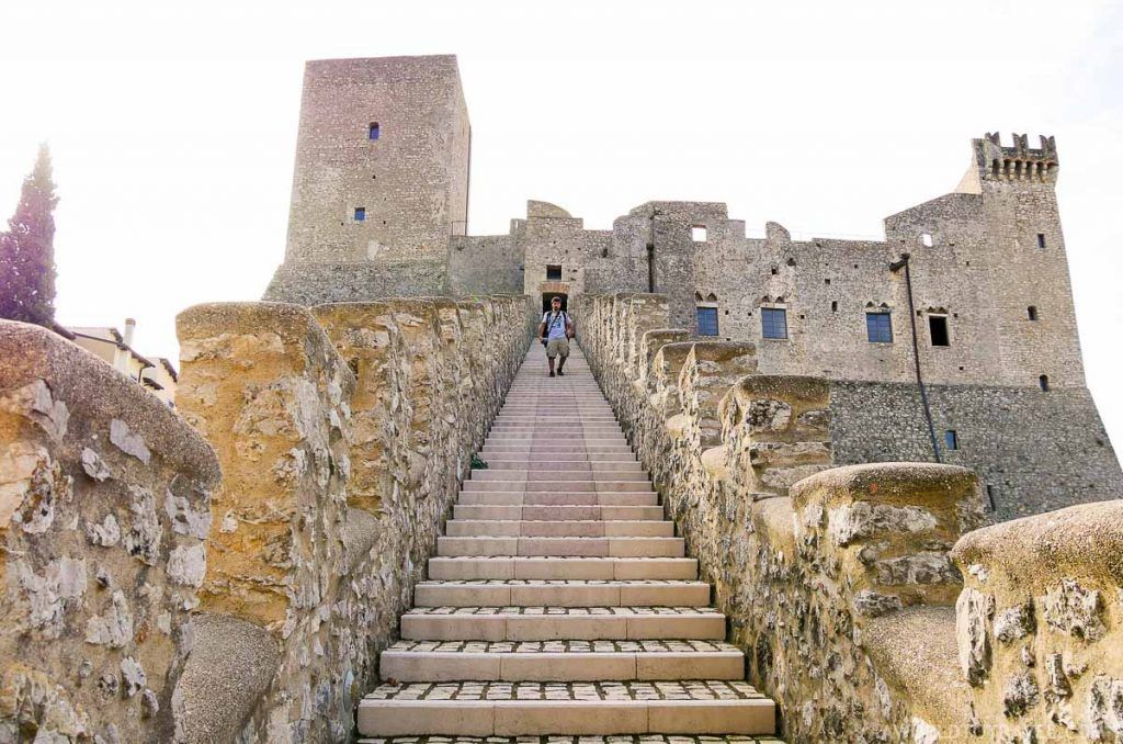 Castillo medieval de Itri - Via Francigena - Italian Wonder Ways - A World to Travel-29