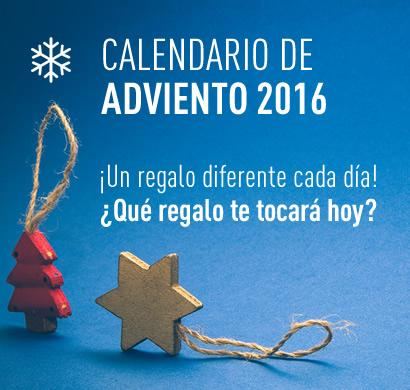 ¡Participa en nuestro Calendario de Adviento 2016 y gana un premio cada día!