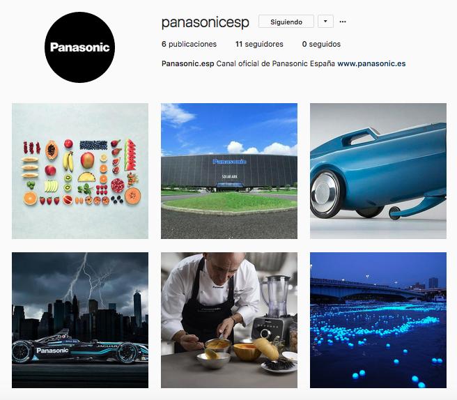 Lanzamos nueva cuenta @PanasonicESP en Instagram ¡Síguenos!