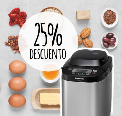 Disfruta del placer de hornear pan sin gluten en casa… ¡con 25% de descuento!