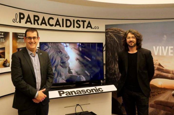 Migue Amoedo, embajador de la gama de televisores de nueva generación de Panasonic