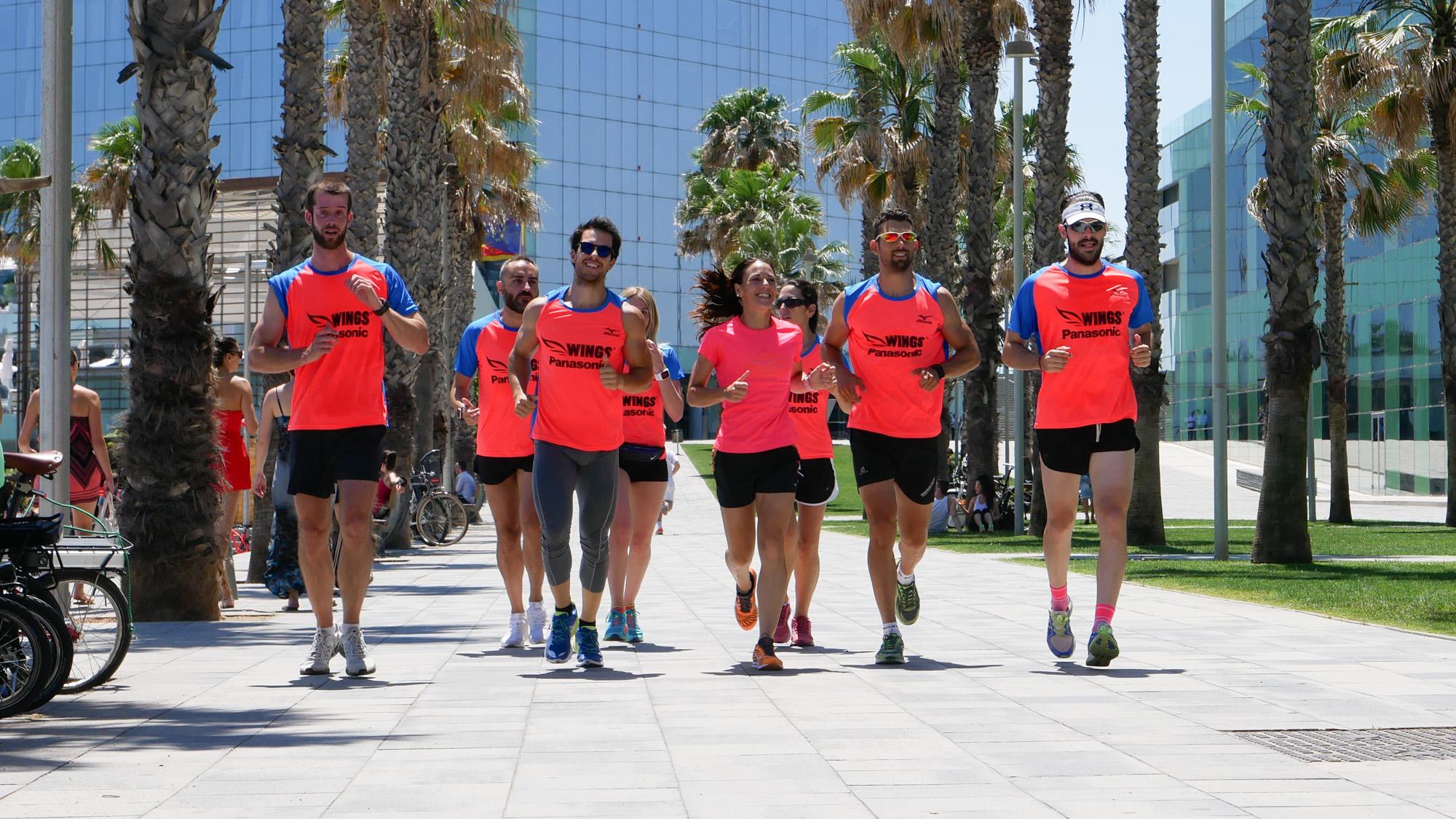 Panasonic y Mizuno organizan en Barcelona una masterclass para runners