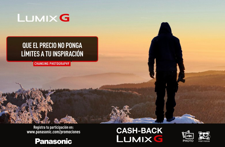 cashback Lumix G 2017