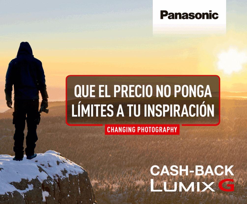 Cashback Lumix G: Que el precio no ponga límites a tu inspiración