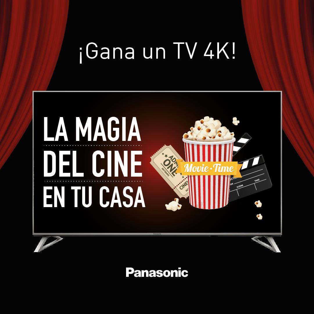 ¡Nuevo Concurso en Facebook! Gana un Televisor 4K y trae la magia del cine a tu casa
