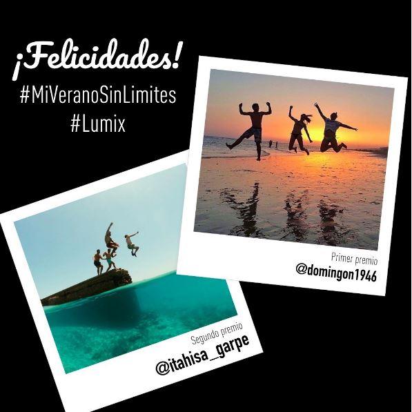 Ganadores del Concurso #MiVeranoSinLimites en Instagram