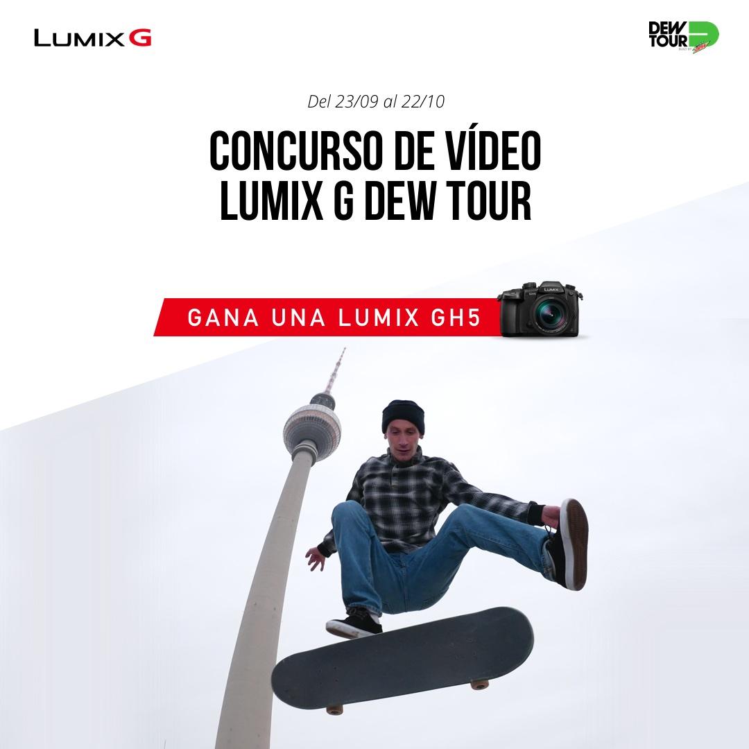 Panasonic en Dew Tour: gana una Lumix GH5 y mucho más