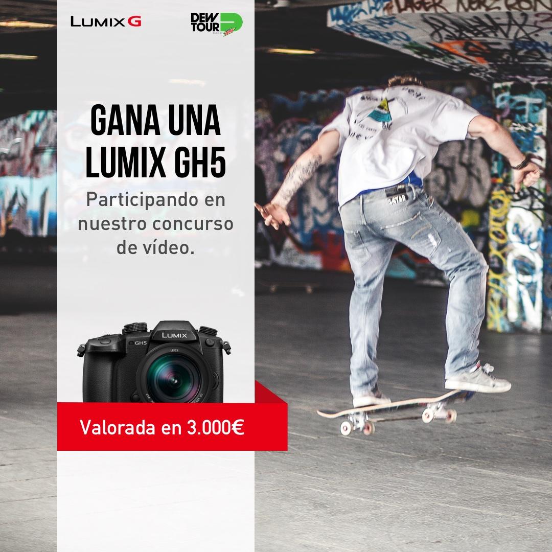 Participa en nuestro concurso de vídeo y gana una Lumix GH5