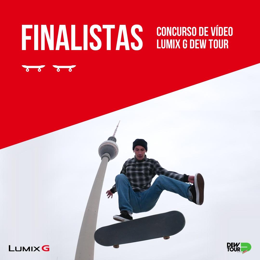 5 Finalistas Concurso de vídeo Lumix G Dew Tour