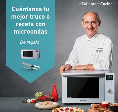 ¿Calientas o Cocinas? Cuéntanos tu mejor truco o receta y llévate un microondas Inverter