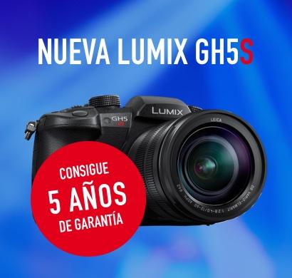 Reserva la nueva Lumix GH5S y disfruta de 5 años de garantía