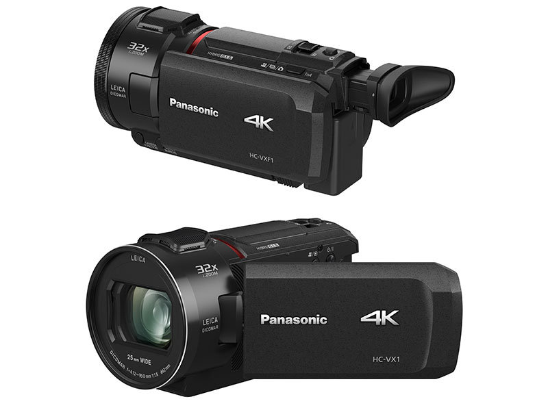 Video camaras panasonic VX1 y VXF1