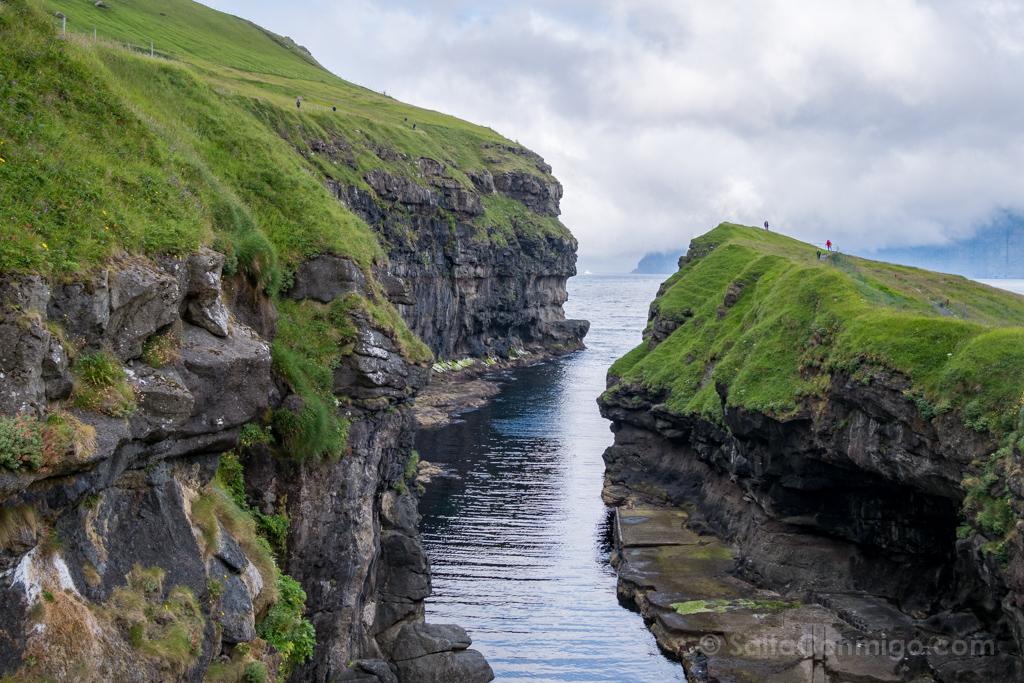 Garganta Gjogv, islas Feroe