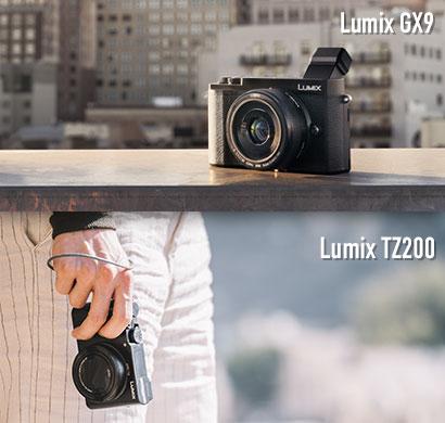 Nuevas Lumix Compactas: GX9 y TZ200