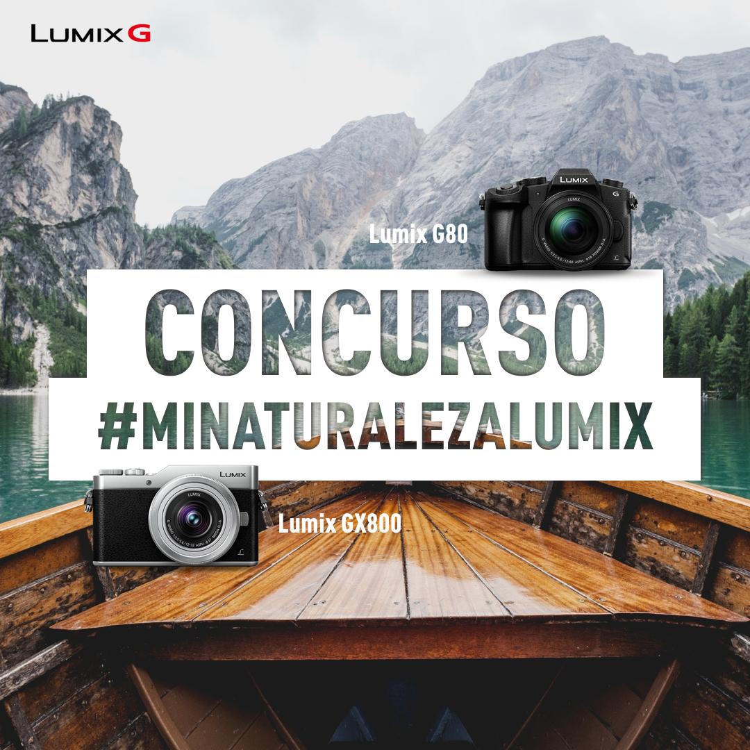Gana tu Lumix G participando en el Concurso «Mi Naturaleza Lumix» en Instagram