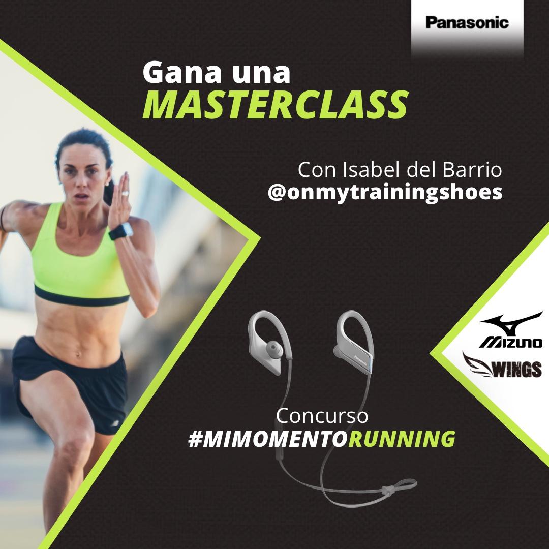 Gana una Masterclass de Running: participa en el concurso «Mi Momento Running»