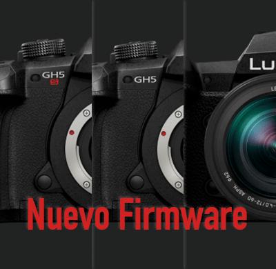 Nuevo Firmware camaras lumix