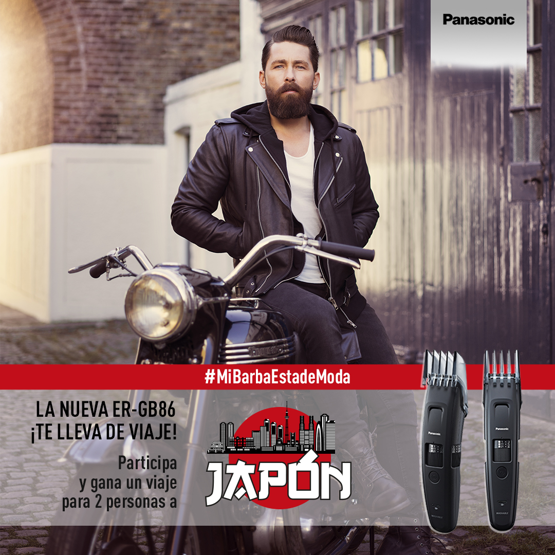 Concurso «Mi Barba Está de Moda»: tu barba te lleva de viaje a Japón