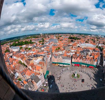 7 Rincones de Flandes que necesitan un Ojo de Pez