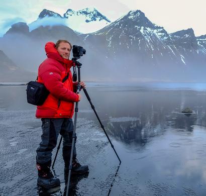 El fotógrafo de naturaleza Iñaki Relanzón prepara su nuevo trabajo con la Lumix G9