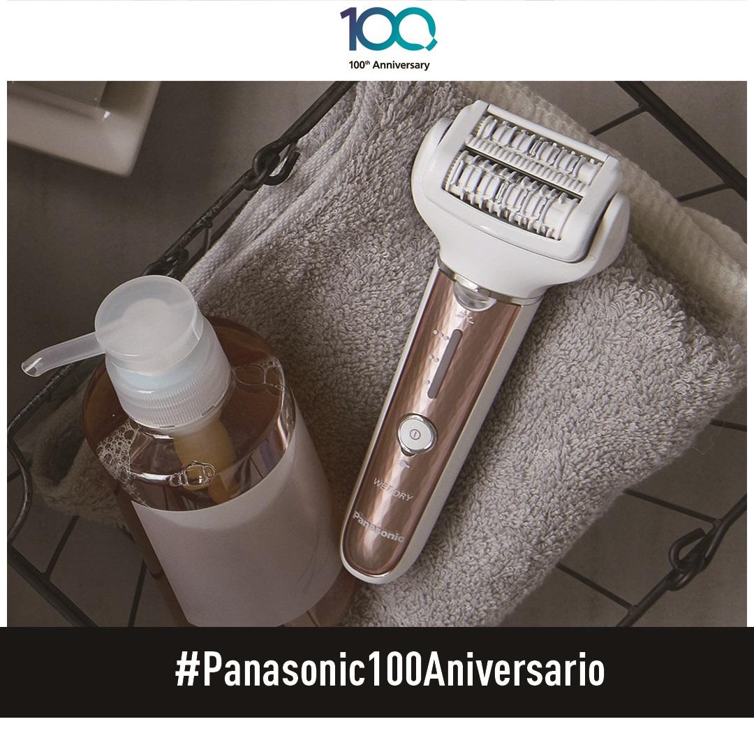Concurso Instagram #panasonic100aniversario: gana una depiladora ES-EL8A