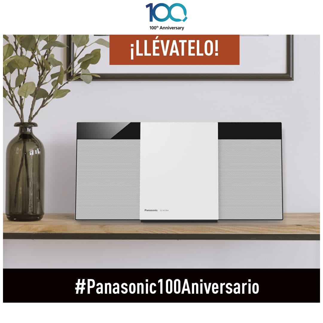 Concurso Panasonic 100 Aniversario: Gana una Minicadena SC-HC300EG