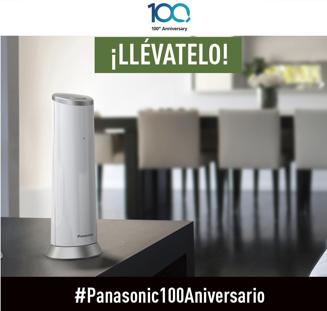 Gana un Teléfono de Diseño TGK210 participando en nuestro concurso Panasonic 100 Aniversario