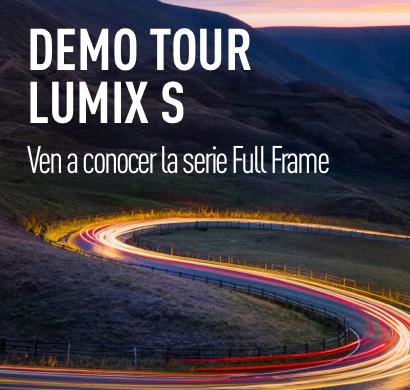 Demo Tour Lumix S: Ven a conocer la nueva Full Frame de Lumix