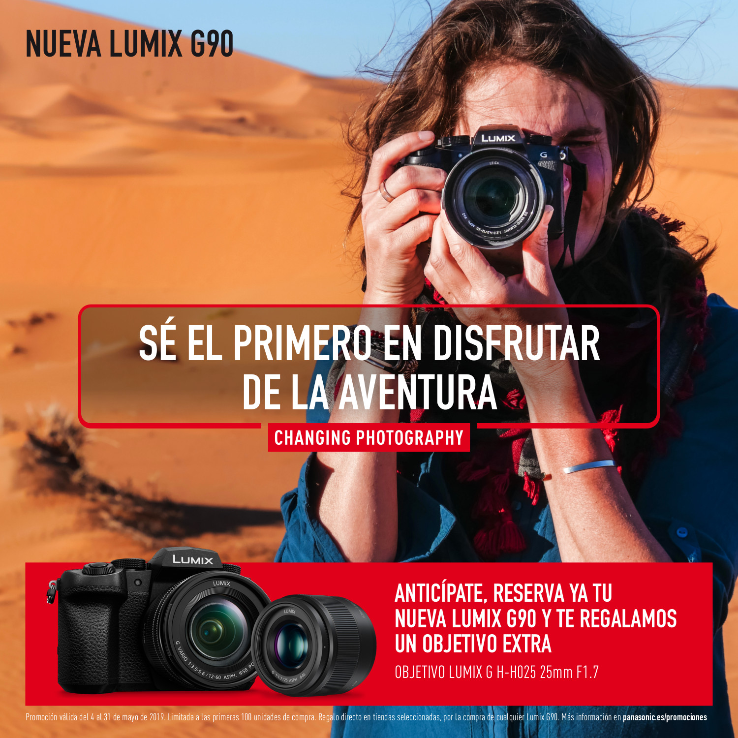 Pre-order Lumix G90: bases legales