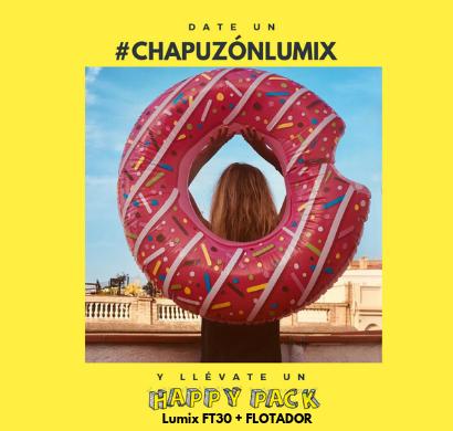 Bases del concurso Instagram #ChapuzonLumix