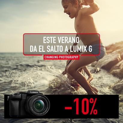 10% de descuento directo en la gama Lumix G