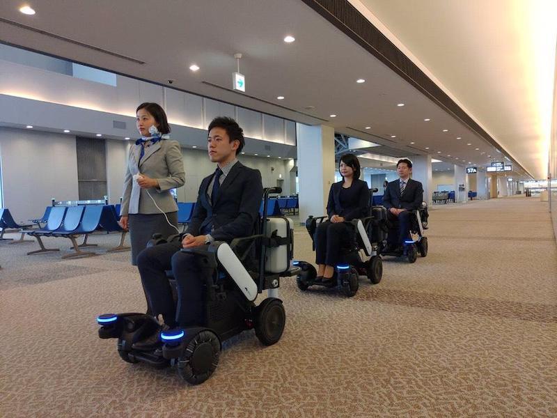Nos Asociamos con ANA para mejorar la movilidad en el Aeropuerto de Tokio-Narita