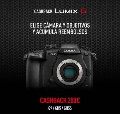 Cashback Lumix G: la oportunidad perfecta para la instantánea perfecta