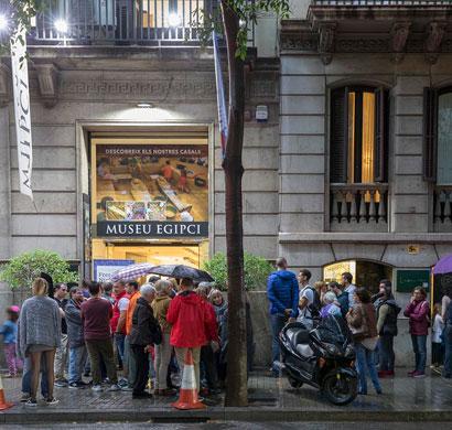 El Museu Egipci de Barcelona y Panasonic celebran la 2ª Edición de la Free Friday Night