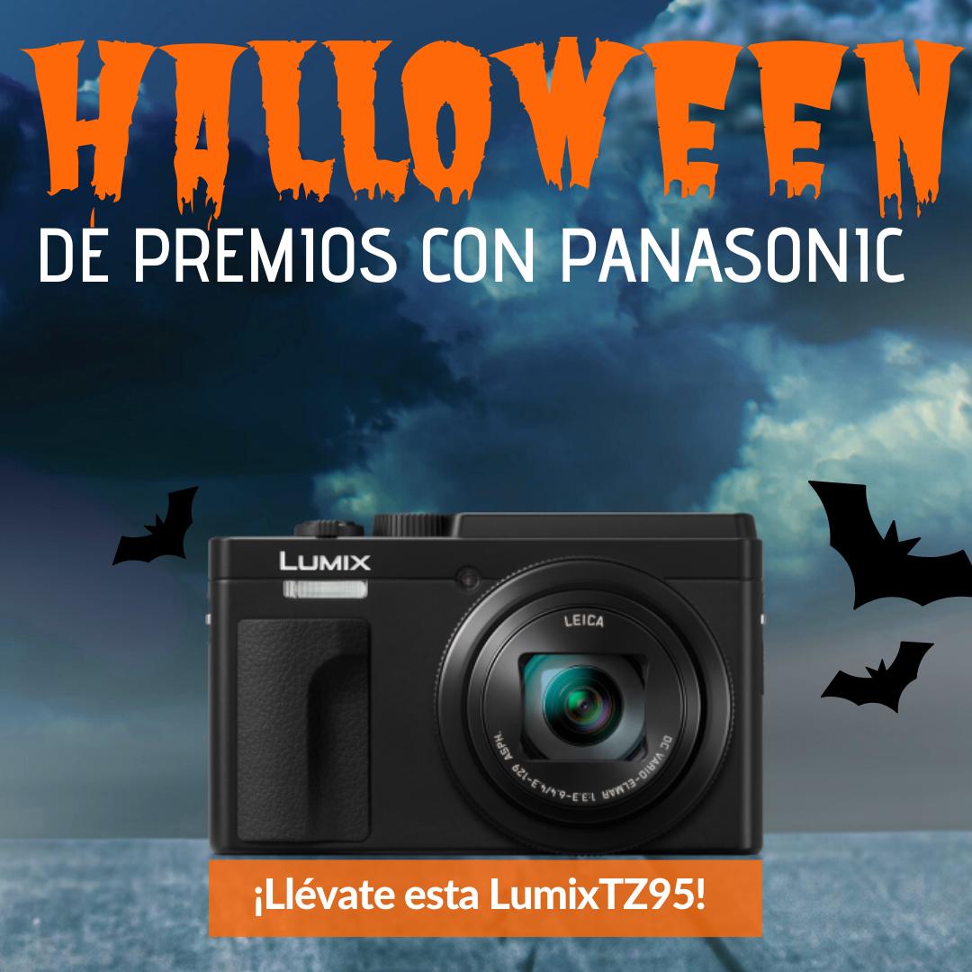 ¡Panasonic te trae un Halloween de premios!