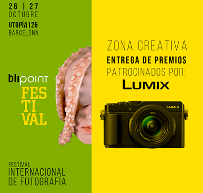 Lumix en el Blipoint festival 2019