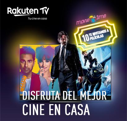 Panasonic y Rakuten TV te ofrecen una promoción de cine