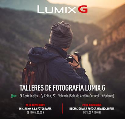 Talleres Gratuitos de Fotografía en El Corte Inglés de Valencia