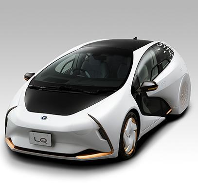 Realidad Aumentada y Aparcacoches sin conductor en el coche LQ de Toyota