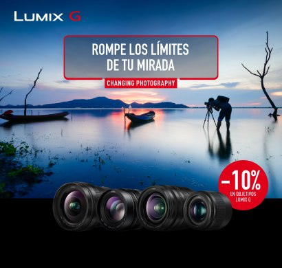 Rompe los límites de tu mirada con Lumix G