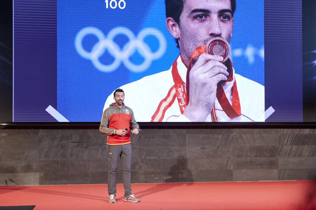 """José Luis Abajo """"Pirri"""", medalla de bronce en los Juegos Olímpicos de Pekín 2008."""