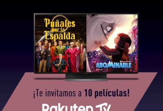 El mejor Cine en Casa viene con Regalo: 10 películas Rakuten TV
