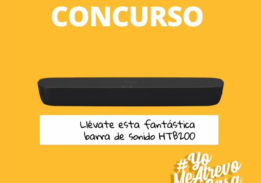 Bases legales concurso #YoMeAtrevoEnCasa con HTB200