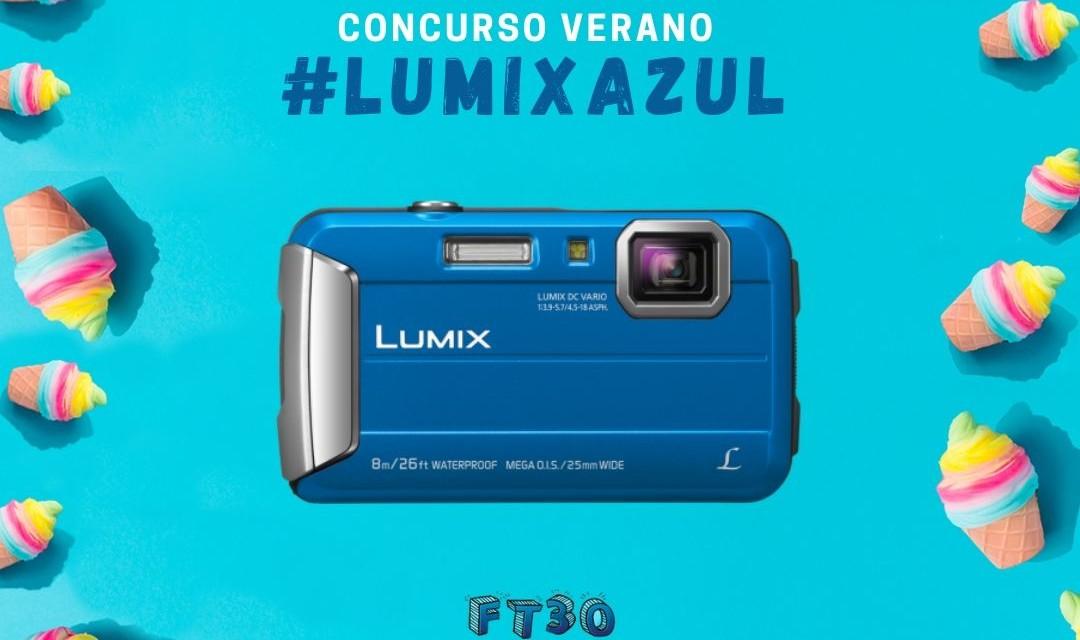 Concurso Lumix Azul: gana un Happy Pack FT30